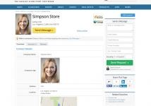 online-directory-script-member-profile-page