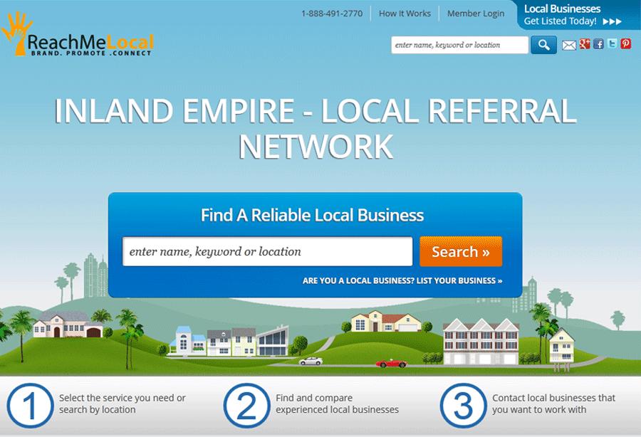 Business Referral Website