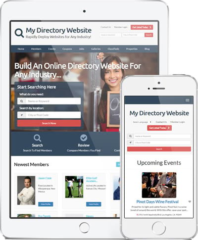 directory website builder
