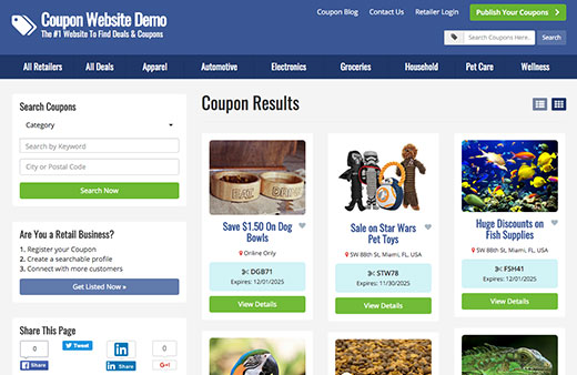 Building Coupon & Deals Sites Has Never Been Easier