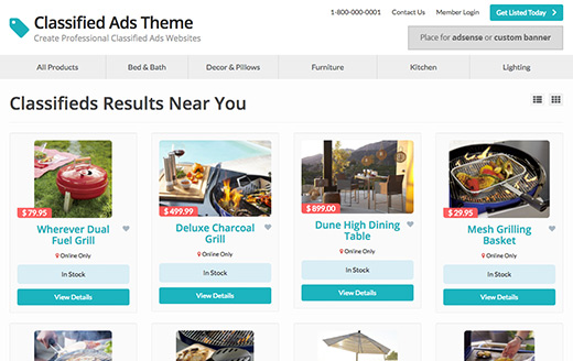 Get Started with the Best Classified Ads Theme