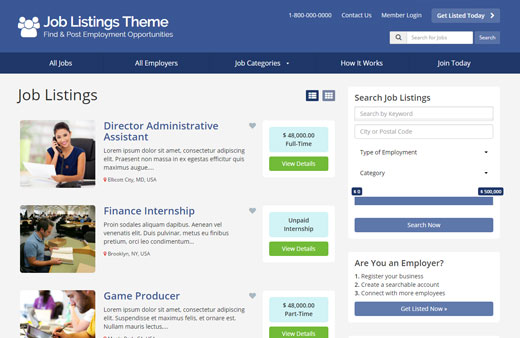 Looking For A Better Jobs Board Theme?