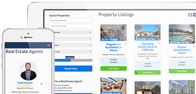 Zillow website clone directory software directory for Zillow site