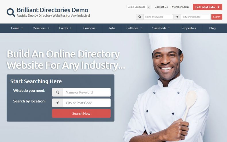 Start Your Own Business Listing Directory Website