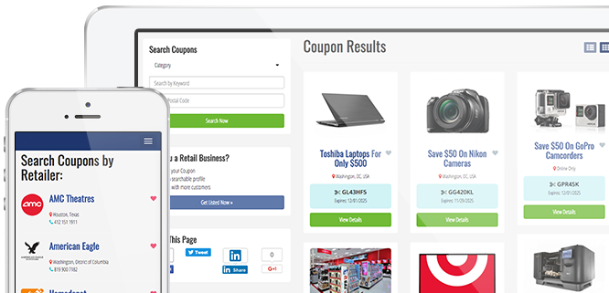 About Coupon Search Theme
