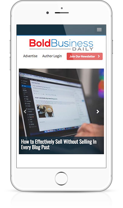 featured blog article slider