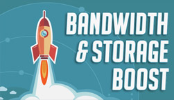 Bandwidth and Storage Boost - Website Directory Theme