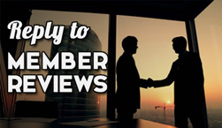 Reply to Member Reviews - Website Directory Theme