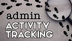 Admin Activity Tracking - Website Directory Theme