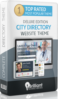 City Directory Website Theme