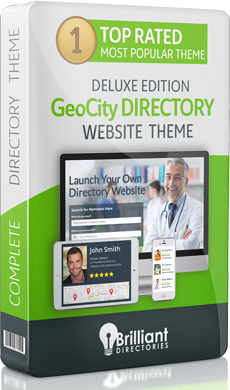 GeoCity Directory Website Theme