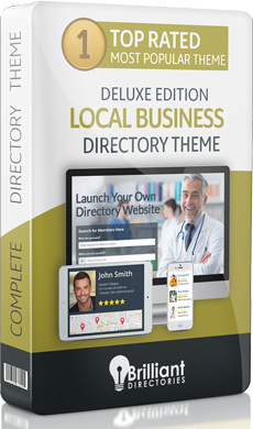 Local Business Directory Website Theme