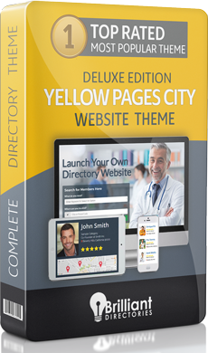 Yellow Pages City Directory Website Theme