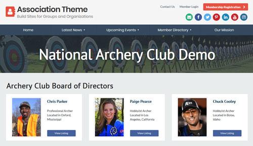 Member Association Theme