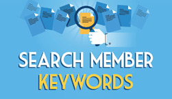 Search Member Keywords - Website Directory Theme