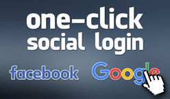 One-Click Social Login - Website Directory Theme