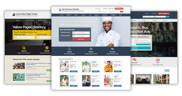 directory website themes