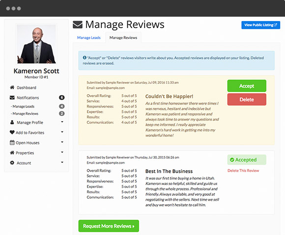 Directory Software - Business Reviews