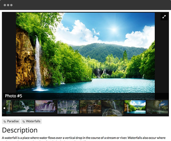 Directory Software - Image Gallery