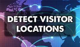Detect Visitor Locations - Website Directory Theme