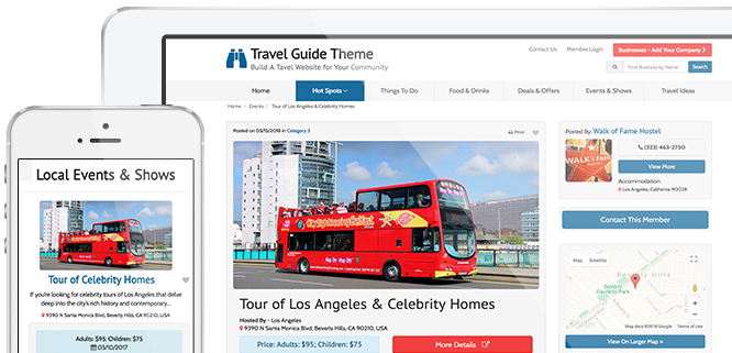Top Travel Guide Theme