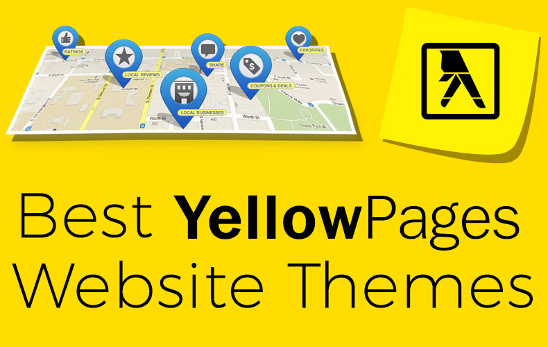 10 Best Yellow Pages Themes for Your Yellow Page Directory