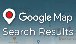 Google Map Search Results - Website Directory Theme