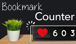 Bookmark Counter - Website Directory Theme