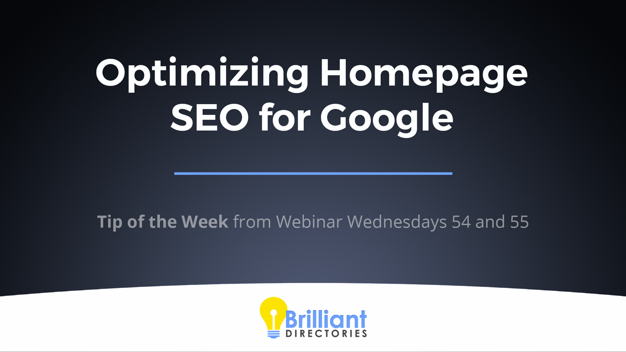 https://www.brilliantdirectories.com/blog/optimizing-homepage-seo-for-google-directory-website-tips