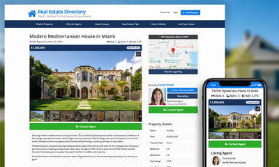Property Listings Theme