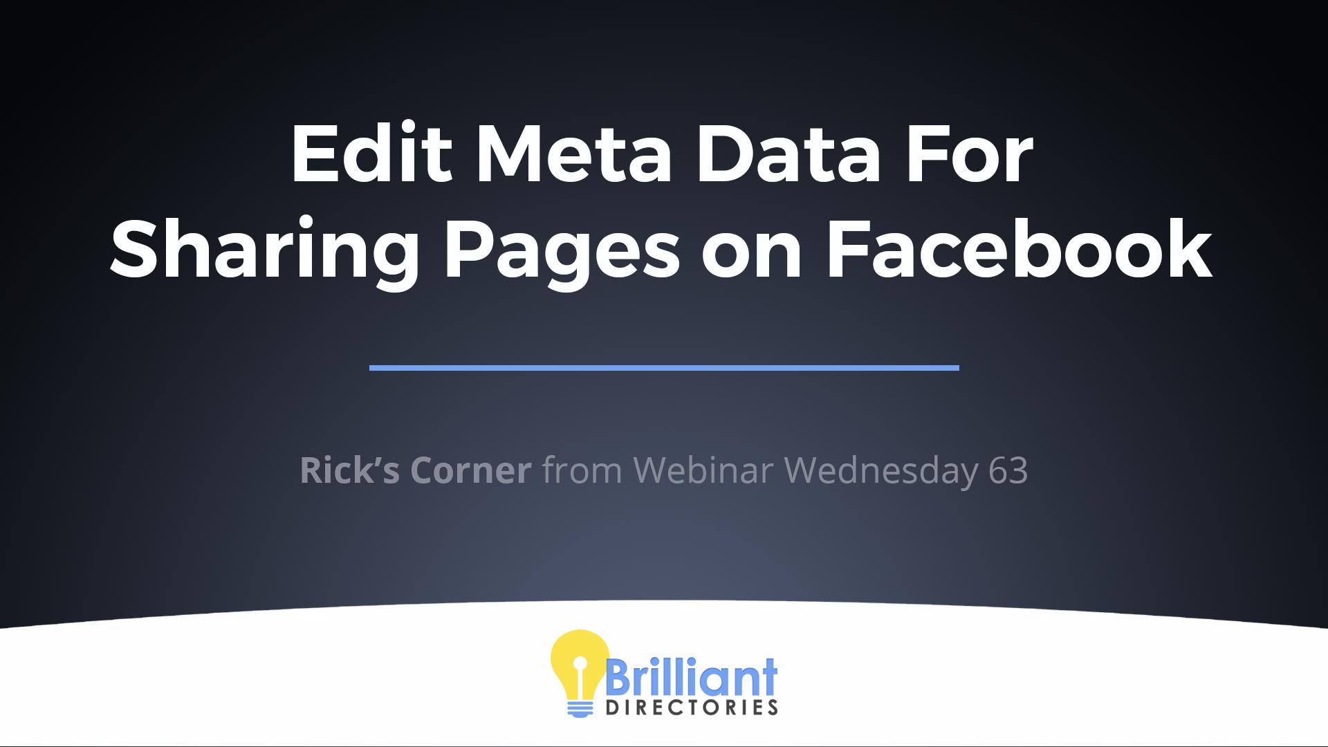 https://www.brilliantdirectories.com/blog/best-facebook-sharing-tips-for-membership-website-meta-data