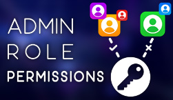 Admin Role Permissions - Website Directory Theme