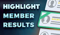 Highlight Member Results - Website Directory Theme