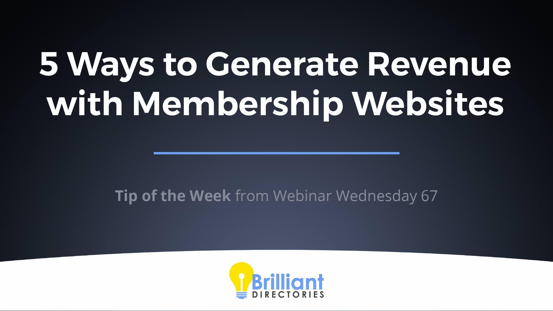 https://www.brilliantdirectories.com/blog/5-easy-ways-to-generate-revenue-with-membership-websites