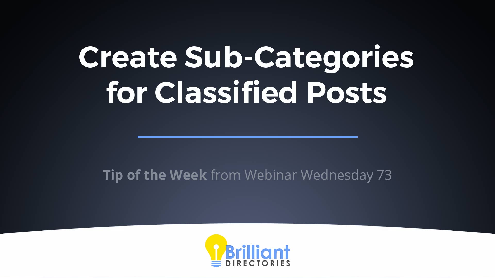 https://www.brilliantdirectories.com/blog/create-sub-categories-for-classified-posts