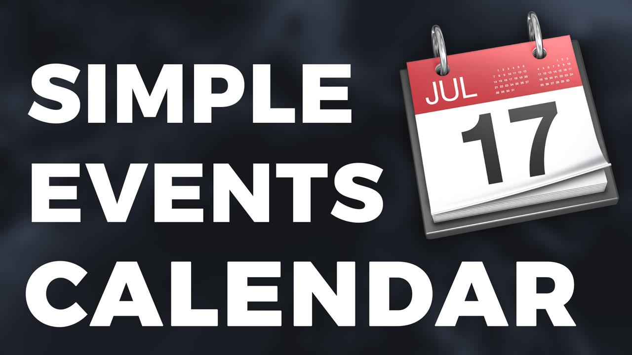 https://www.brilliantdirectories.com/simple-events-calendar